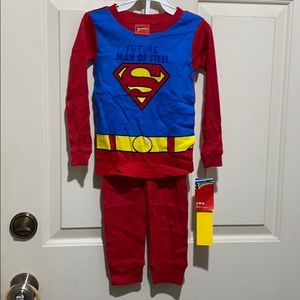 DC Comics Toddler Superman 2 Piece Cotton Infant